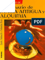 Balach, Enric - Diccionario de Magia Antigua y Alquimia