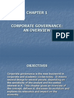 Chapter 1 Corporate Governance an Overview