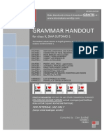 Grammar Handout [Consolidated] 2nd Edition