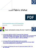 LCG Fabric Status SC2 12March