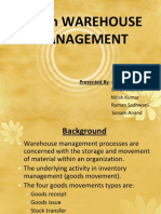 Erp in Warehouse Management