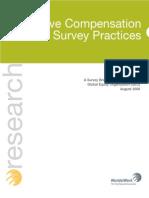 executive compensation survey