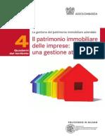 Ndeg 4 - Il Patrimonio Immobiliare Delle Imprese