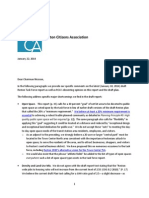 RCA Comment on Draft RTF Report, January 22, 2014