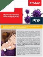Comunicado Gripe AH1N1