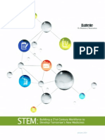 PhRMA STEM Education Report 2014