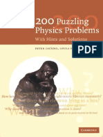 200 Physics Problem_ Hints and Sotutions
