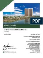 Wynn Casino Draft Environmental Impact Report Vol. II