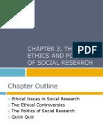 Babbie Ethics 5e PPT Ch 3