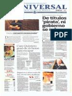 Gcpress- Portadas de Los Principales Medios Nacionales-mier-22-Ene-2014