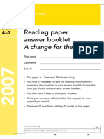2007EngKS3ReadingAnswer PrimaryTools