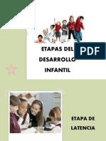 Etapas Del Desarrollo Infantil