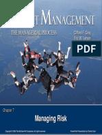 Gray Chap07 Riskmanagement