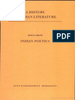 Edwin Gerow Indian Poetics