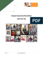 Deepam Newsletter Q4 2013 Final