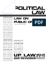 Law on Public Officers
