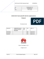 GSM BSS Network KPI (MOS) Optimization Manual V1.0