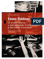GOLDMAN, Emma. O Indivíduo a Sociedade e o Estado, e Outros