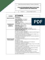Ficha de Seguridad Etanol