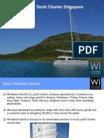 Luxury Yacht Charter Singapore