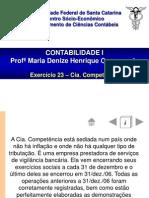 Ex 23 - CIA Comptencia