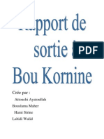 Sortie Bou Kornine