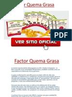 El factor quema grasa en pdf - libro completo del factor quema grasa.