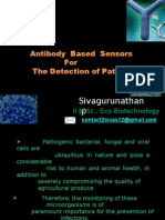 Immuno Sensors for the detection of Pathogens