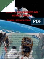 SOBRE EL LANZAMIENTO DEL SATÉLITE  PEGASO