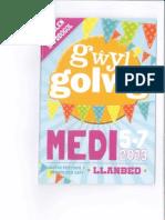 Gwyl Golwg Programme