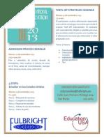 Flyer Education Week 2013