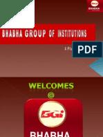 Bhabha Group Placement