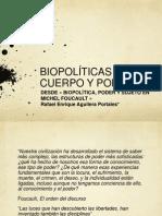 Biopolítica y poder