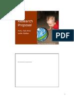 MIT9 85F12 Proposal