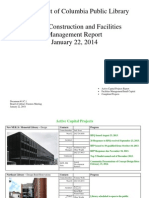 Document #11C.1 - Capital Projects and Facilities Managment Report