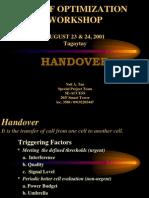 Handover Parameters