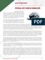 01.El Cine Cultura Espectaculo Arte y Medio de Comunicacion