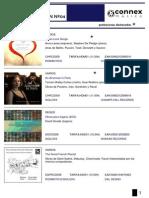Boletin de Novedades Connexmusica Enero 2014