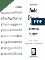 FLAUTA - PARTITURA - Gilliam e Mccaskill - Solos para iniciantes.pdf