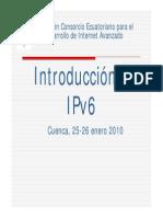 Introduccion a IPv6