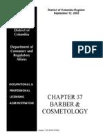 Dc Board of Cosmetolofy