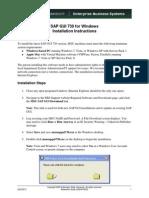 Sap Gui Download Instructions