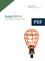 Deloitte MYASCO Budget 2013-14