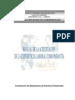 Manual de la Experiencia Laboral como Pasantía