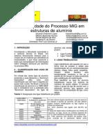 Aplicabilidade Do Processo MIG Em Estruturas de Aluminio