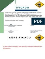 Certificado de Treinamento de NR 35 (2)