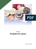 Handbuch ProSaldo EA Classic