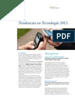 Tech Trends 2013 - español