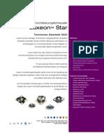 176042 Da 01 de Luxeon Led 1W StarHexagon LXHL NWE8