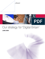 TSB Our Strategy for Digital Britain
